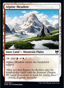 Alpine Meadow - KHM - C
