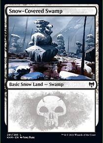 Snow-Covered Swamp - KHM - 281