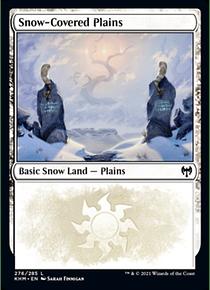 Snow-Covered Plains - KHM - 276