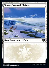 Snow-Covered Plains - KHM - 277