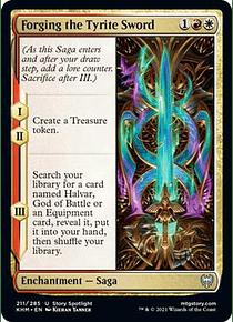 Forging the Tyrite Sword - KHM - U
