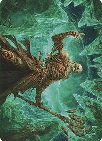 Draugr Necromancer Art Card - KHM-ART