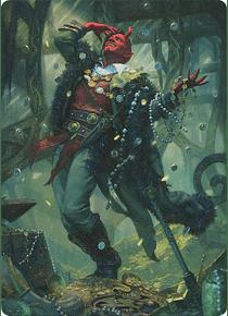 Tibalt, Cosmic Impostor Art Series: Kaldheim