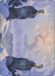 Snow-Covered Plains Art Series: Kaldheim
