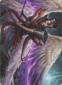 Firja, Judge of Valor  Art Series: Kaldheim