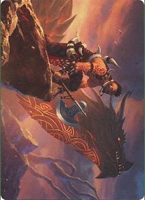 Dragonkin Berserker Art Series: Kaldheim