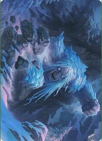 Icehide Troll  Art Series: Kaldheim