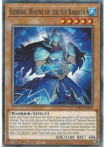 General Wayne of the Ice Barrier - SDFC-EN001 - Common