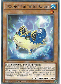 Hexa Spirit of the Ice Barrier - SDFC-EN004 - Common