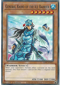 General Raiho of the Ice Barrier - SDFC-EN015 - Common