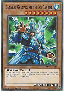 General Grunard of the Ice Barrier - SDFC-EN018 - Common
