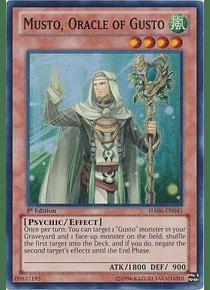 Musto, Oracle of Gusto - HA06-EN045 - Super Rare
