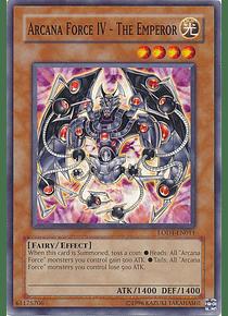 Arcana Force IV - The Emperor - LODT-EN011 - Common