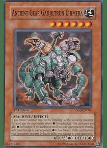 Ancient Gear Gadjiltron Chimera - SD10-EN002 - Common