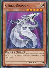 Cyber Dragon (White) - SDCR-EN003 - Common