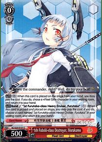 5th Fubuki-class Destroyer, Murakumo - KC/S25-E101 - C