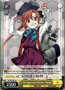 19th Kagero-class Destroyer, Akigumo - KC/S25-E013 - C
