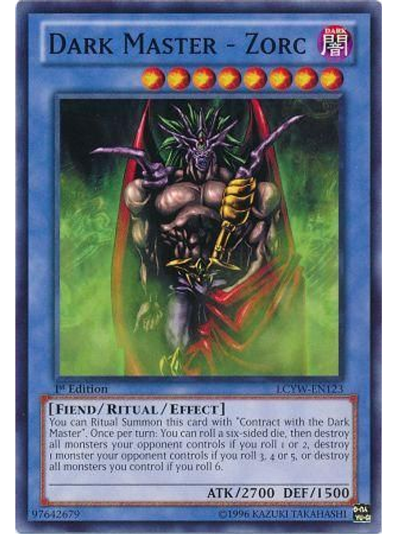 Dark Master - Zorc - LCYW-EN123 - Common