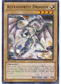 Alexandrite Dragon - BP02-EN004 - Mosaic Rare