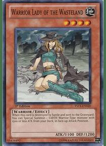 Warrior Lady of the Wasteland - YS11-EN020 - Common (jugada)