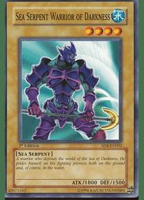 Sea Serpent Warrior of Darkness - SD4-EN003 - Common