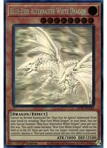 Blue-Eyes Alternative White Dragon - GFTP-EN129 - Ghost Rare