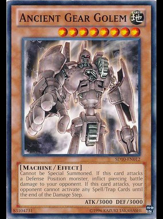Ancient Gear Golem - SD10-EN012 - Common