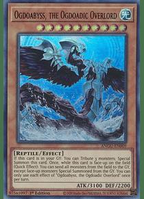 Ogdoabyss, the Ogdoadic Overlord - ANGU-EN009 - Ultra Rare