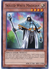 Skilled White Magician - BP01-EN131 - Common