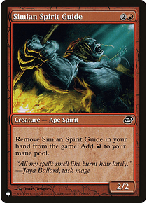 Simian Spirit Guide - Plist - C