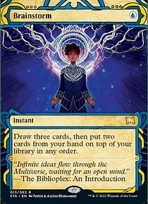 Brainstorm - STA - R