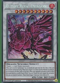 Ruddy Rose Dragon - LIOV-EN035 - Secret Rare