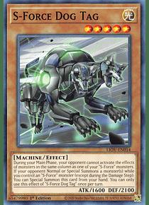 S-Force Dog Tag - LIOV-EN014 - Common