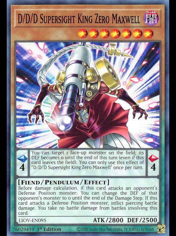 D/D/D Supersight King Zero Maxwell - LIOV-EN095 - Common
