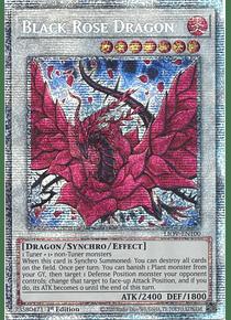 Black Rose Dragon - LIOV-EN100 - Starlight Rare