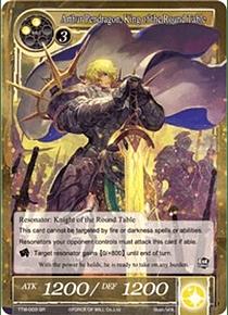 Arthur Pendragon, King of the Round Table - TTW-003 SR