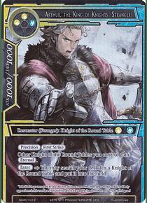 Arthur, the King of Knights (Stranger) (Full Art) (FOIL)- SDA01-019