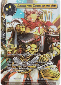Gawain, the Knight of the Sun (Full Art) (FOIL) - SDA01-003