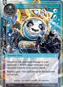 Diver Panda - ADK-066-U