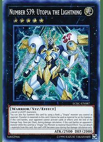 Number S39: Utopia the Lightning - LCKC-EN087 - Secret Rare