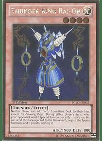 Thunder King Rai-Oh - PGLD-EN075 - Gold Rare