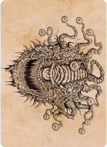 Baleful Beholder (Showcase) Art Card - AFR - 68/81