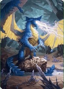 Blue Dragon Art Card - AFR - 73/81