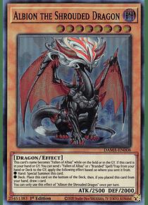 Albion the Shrouded Dragon - DAMA-EN008 - Super Rare