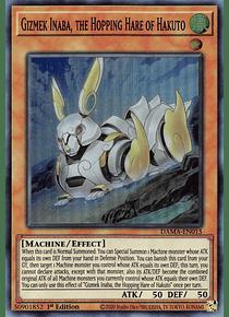 Gizmek Inaba, the Hopping Hare of Hakuto - DAMA-EN015 - Super Rare