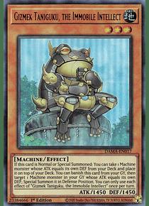 Gizmek Taniguku, the Immobile Intellect - DAMA-EN017 - Ultra Rare