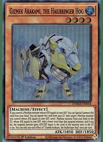 Gizmek Arakami, the Hailbringer Hog - DAMA-EN018 - Super Rare