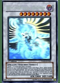 Black-Winged Dragon - TSHD-EN040 - Ghost Rare 1st Edition (NM)