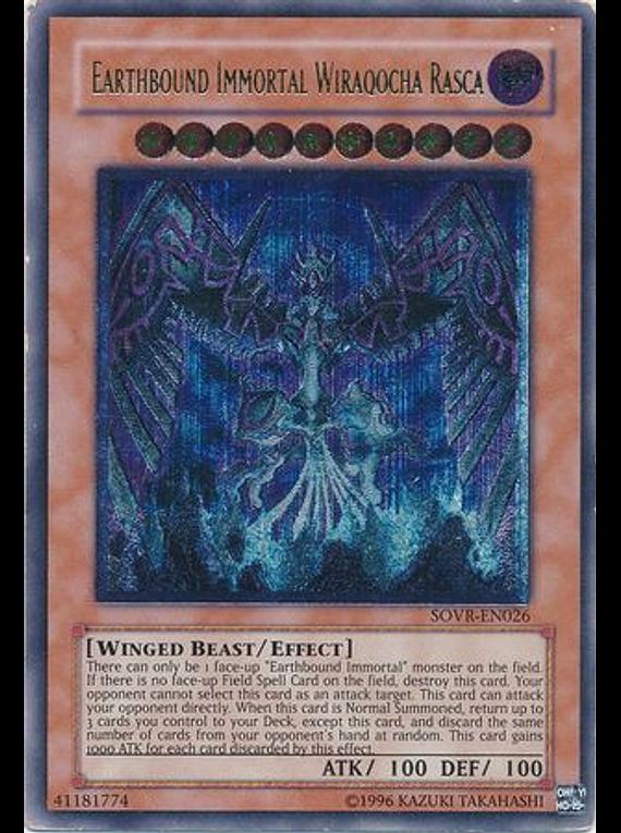 Ultimate Rare - Earthbound Immortal Wiraqocha Rasca - SOVR-EN026