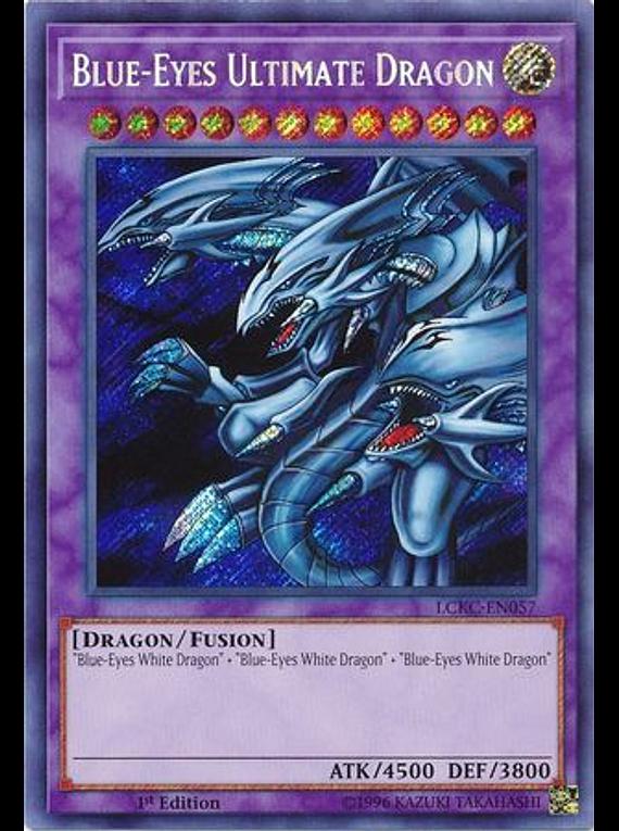 Blue-Eyes Ultimate Dragon - LCKC-EN057 - Secret Rare